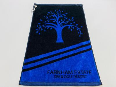 Towel Black and Blue