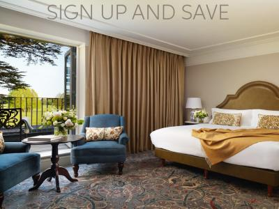 sign up and save - room