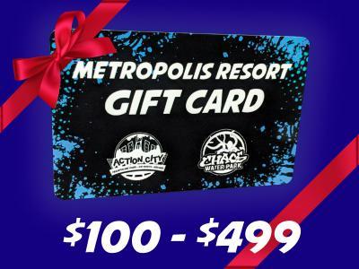 Gift Card 100 - 500