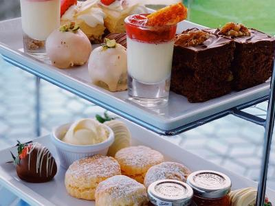 Afternoon Tea at Cliff Hotel New