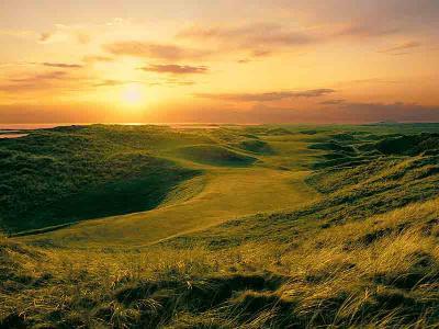 Ennisconre  Golf Course at Sunset