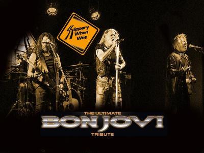 Bon Jovi Tribute band Slippery when wet