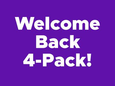 Welcome Back 4-Pack