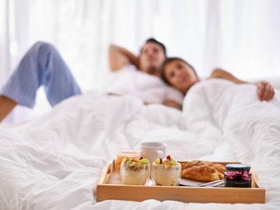 Fleet Couple in Bed