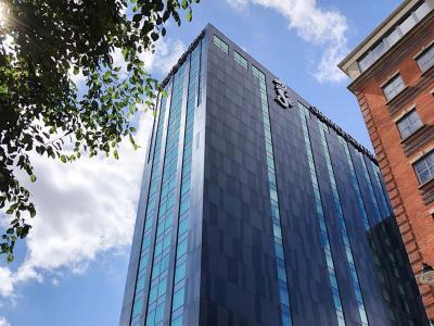 Exterior Grand Central Blue Sky