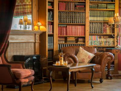 The Library at Dingle Benners