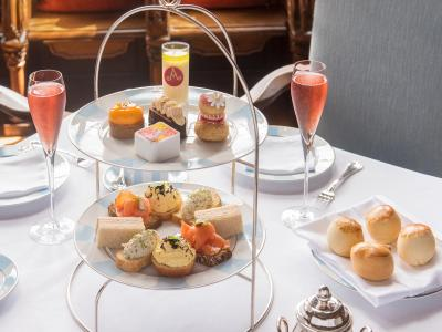 Champagne Afternoon Tea Banner