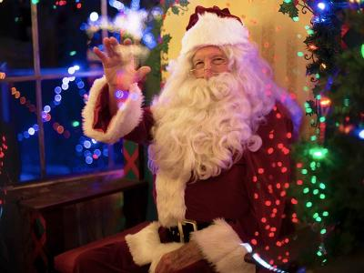Ballyroe Heights Santa Wonderland