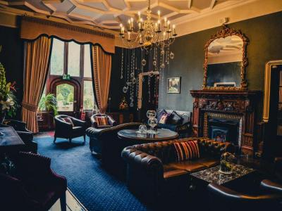 Lounge at Ruthin Castle Hotel