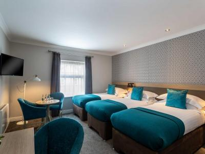 Triple room, the Ashe Hotel, Tralee