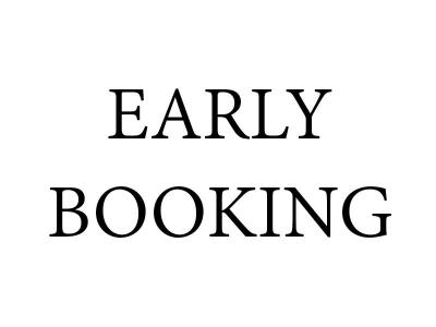 Eearly Booking White