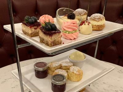 Afternoon Tea at The Cliff Hotel