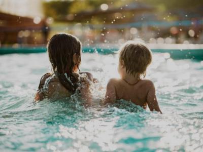 Connemara Children Swimming