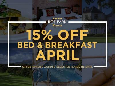 15% off april
