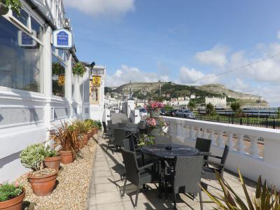 Sea view at Imperial Hotel Llandudno