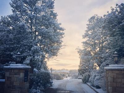 Snow Entrance