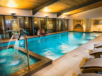 Indoor swimming pool - Hatherley Manor Hotel