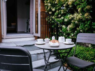 Outside Breakfast Terrace