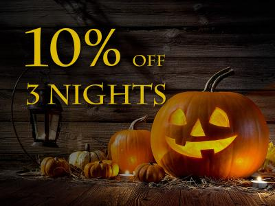 Halloween 2018 Discount Offer